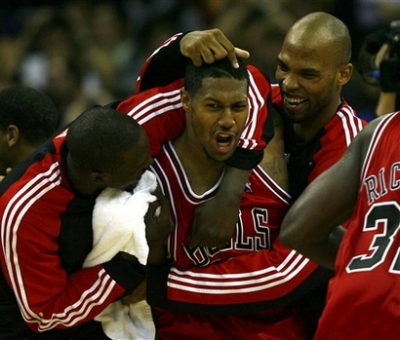 The 2009-10 Bulls really heart each other.