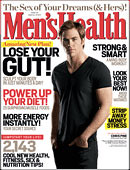 men's health cover november 2009
