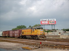 Union Pacific EMD GP 15 # 547. Chicago Illinois. September 2007.