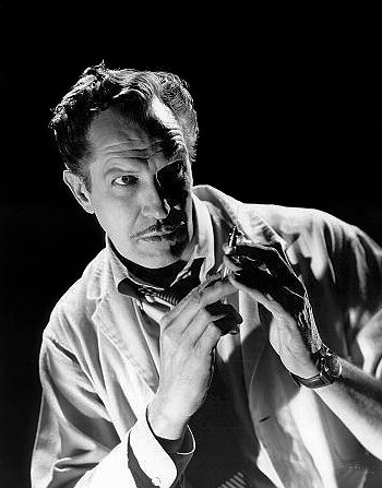 Hollywood horror actor Vincent Price