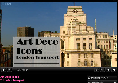 Art Deco Icons: London Transport  - BBC4