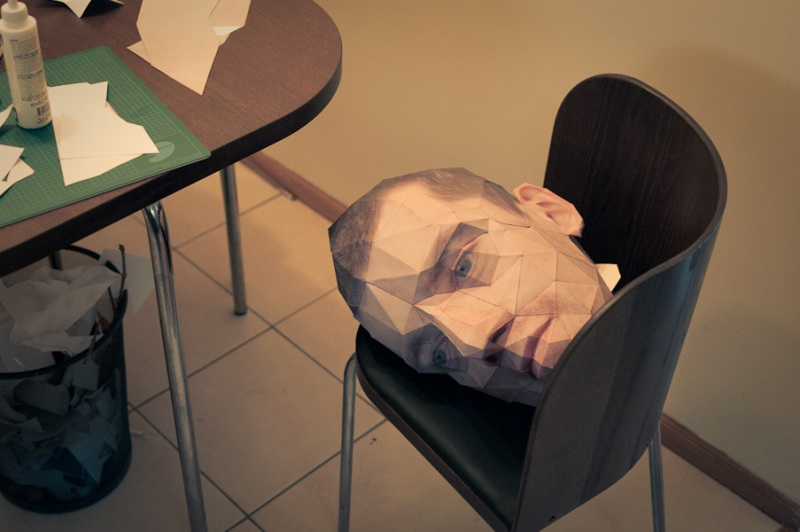 3D face portrait by Eric Testroete 6