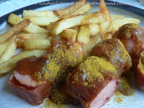 Currywurst mit Pommes 001