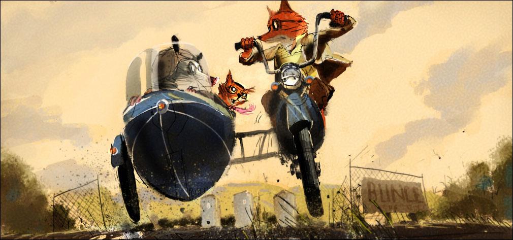 Concept Art For Fantastic Mr Fox By Chris Appelhans