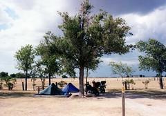 Amarillo KOA (wallygrom) Tags: usa tents texas amarillo motorbikes rtw campsite roundtheworld motorcycletrip