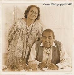 Debby & Edgar Perry (Laveen Photography (aka cyclis451)) Tags: family arizona heritage phoenix apache culture az nativeamerican indianmarket heardmuseum fortapache cyclist451 laveenphotography