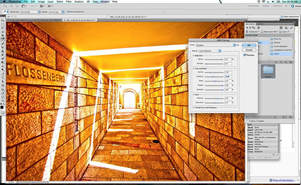 New HDR Functionality in Photoshop CS5