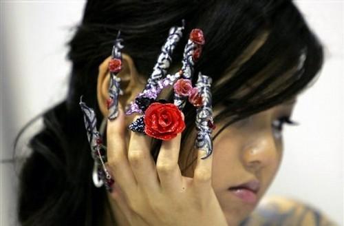 singapore nail art