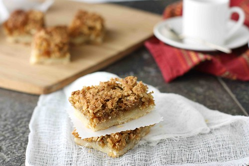 Oatmeal Butter Tart Square Recipe for Tasty Kitchen