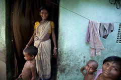 Mother and children at home (asiastories) Tags: woman india children asia child kolkata calcutta southasia