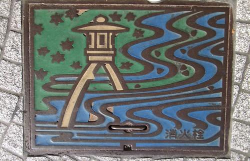 Kanazawa Manhole Cover, Ishikawa Prefecture