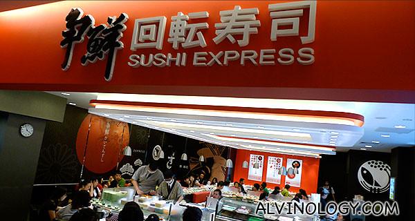 Sushi Express @ Citylink Mall