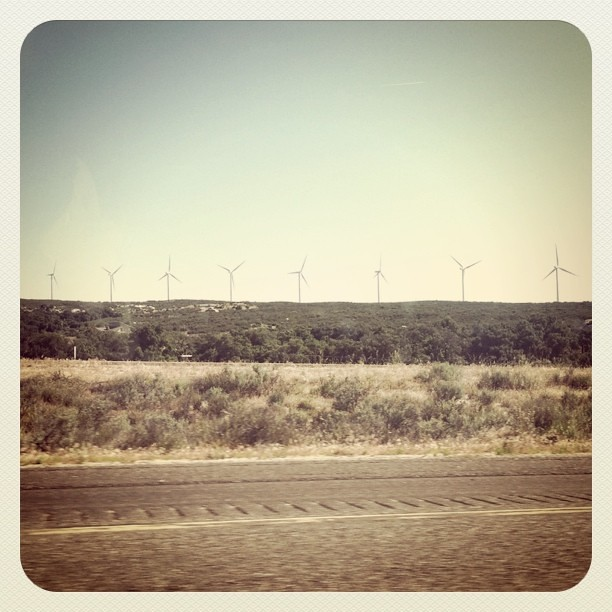 Wind Turbines in East County San Diego.