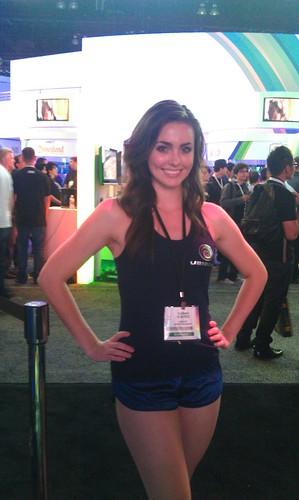 Booth Babe E3 2011
