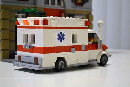 Moc Type Iii Ambulance Lego Town Eurobricks Forums