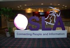 SLA conference logo