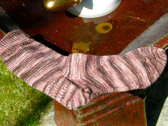 Basic shaped arch sock