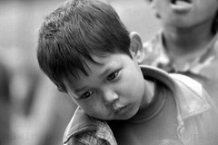A boy amazed by a serpent (Aswin Pradhan) Tags: send comments