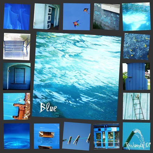 blue collage a photo on flickriver