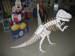 X-Board 3D Dinosaur #1