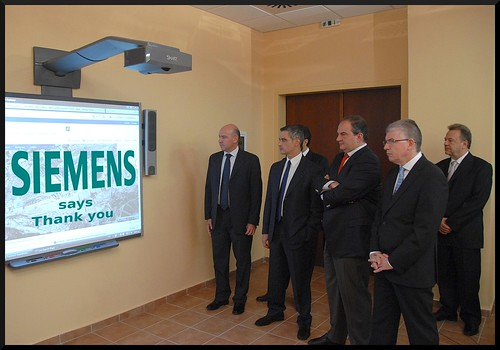 Siemens says thank you