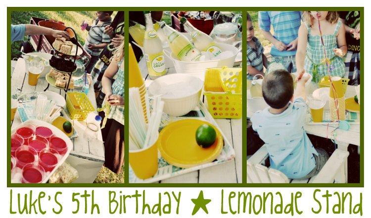 Luke's Lemonade Stand