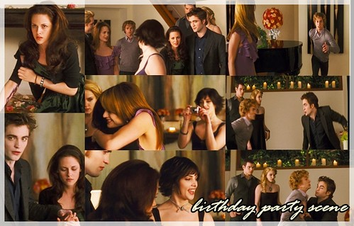 birthday party scene.  Bella's birthday party scene; ? Oldest photo