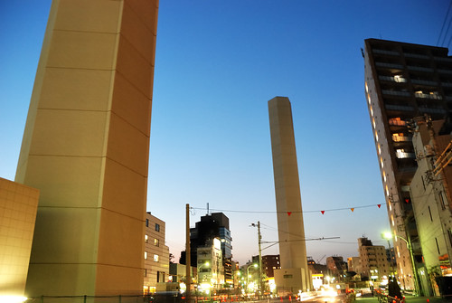 Ventilating Tower of Yamate-tunnel