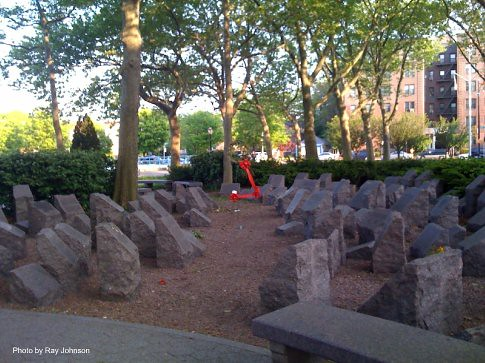 holocaust memorial stone markers