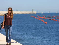 ... Welcome to the port of Brindisi (FranK.Dip) Tags: girls italy woman girl faro donna italia mare jeans porto donne turismo salento puglia bellezza ragazza regata brindisi turista passeggiata ragazze boe passeggiare barcheavela digapuntariso dip2 frankdip panoramafotogrfico memorycornerportraits lagentecheincontro 06112009 xxivedizione2009brindisicorf theoriginalgoldseal