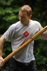 Stocherkahnrennen 2009 (@richlewis) Tags: canon germany deutschland eos tuebingen neckar stocherkahnrennen neckarinsel 450d tamronaf70300mmdild21macro