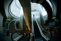 (Jordy B) Tags: urban france lines architecture stair curves 105 92 escalier lignes immeuble urbain grandearche courbes ladefense bestofr masterpiecesofphotography