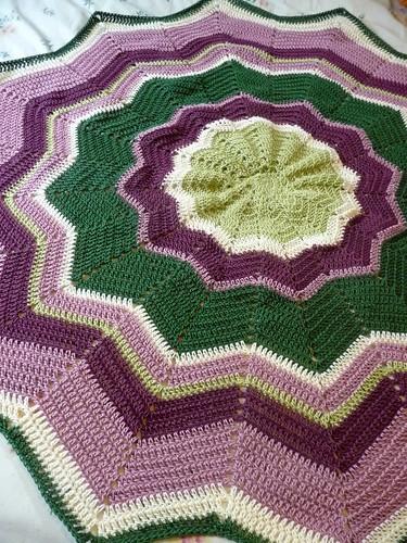 lustersheen baby blanket #2