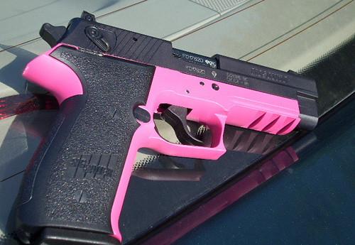 pink guns