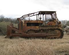 KillDozer (dbro1206) Tags: canon rust track mechanical rusty machinery international dozer arkansas blade winch ih oldiron bucyruserie td24