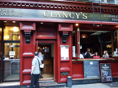 Midtown Happy Hour Clancy's