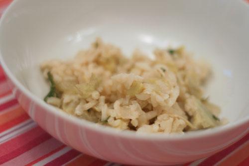 artichoke-herb-risotto