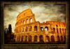 Roman Colosseum (Paulette Mertes) Tags: italy rome history texture architecture canon europe colosseum romancolosseum italy2009 tumiqualityphotography magicuniverse memmoriesbook