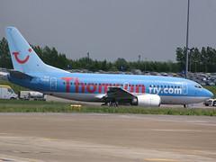 G-THOA- Boeing 737 ThomsonFly - 060523 - Luton - Steven Gray - CRW_5448
