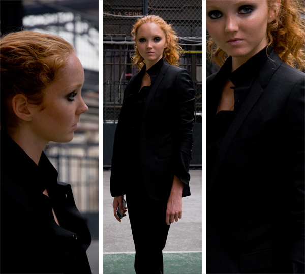 Lily Cole, Dior, James Bort