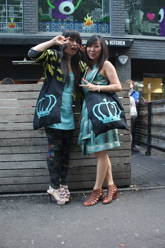 Yuki & Wendy  at QOS Party on 28th June at Hoxton bar and Kitchen