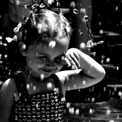 Rain, Rain... (Michelle Brea) Tags: people art water rain photography drops kid moments play artistic little capture feelings gril 500x500 michellebrea imagesoftheweek photodistorzija4