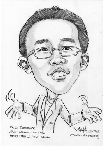 Caricature for Maris Stella High School -9