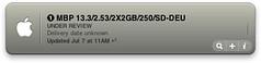 oh the excitement... (lnrdshelby) Tags: apple macintosh screenshot widget dashboard mbp macbookpro