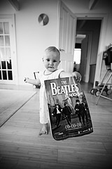 The Beatles (Thomas Hole) Tags: uk baby cute liverpool canon funny rockstar sweet band cover beatles 5d fab4 f28 thebeatles 1735 justhappened 090909 thebeatlesrockband pureengland