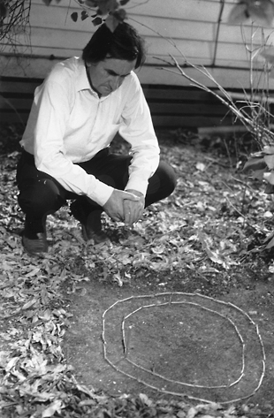 Gerald Murnane looks at a mini racecourse_310x473