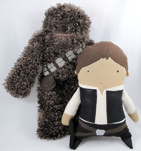 Denn Rodriguez; Chewbacca and Han