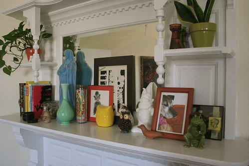 bedroom mantle