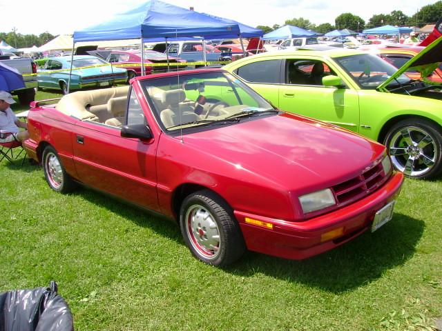 shadow convertible dodge 1992 mopar carlisle carshow fwdmopar carlisleallchryslernationals