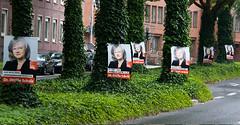 Bochum: Wahlkampf 2009 (Ottilie Scholz, SPD)